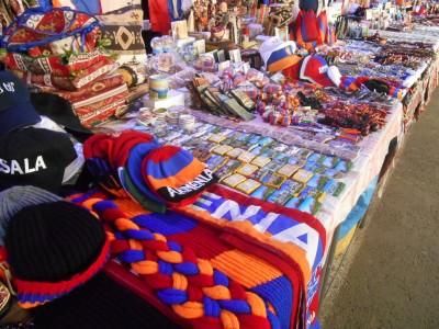 vernissage market armenia flag