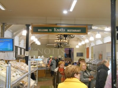 Friday's Featured Food comes from Knott's in Newtownards, Northern Ireland.
