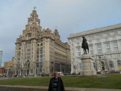 Down by the waterfront in Liverpool: 5 Best Backpacking Places in England.