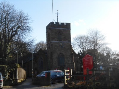 A church in Harborne, Birmingham.