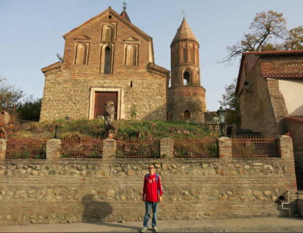 tsminda giorgi church sighnaghi