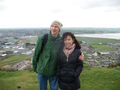 My girlfriend Panny Yu visits Northern Ireland.