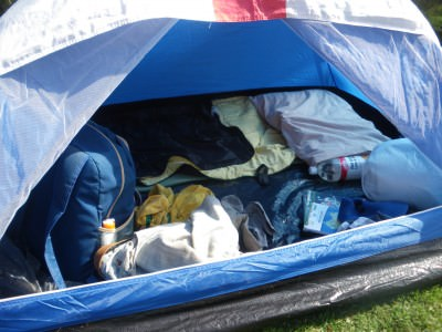 Get prepared for camping this spring.