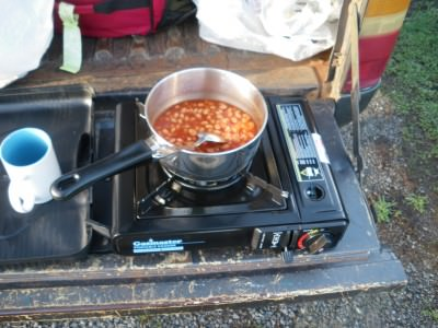 camping cooking australia