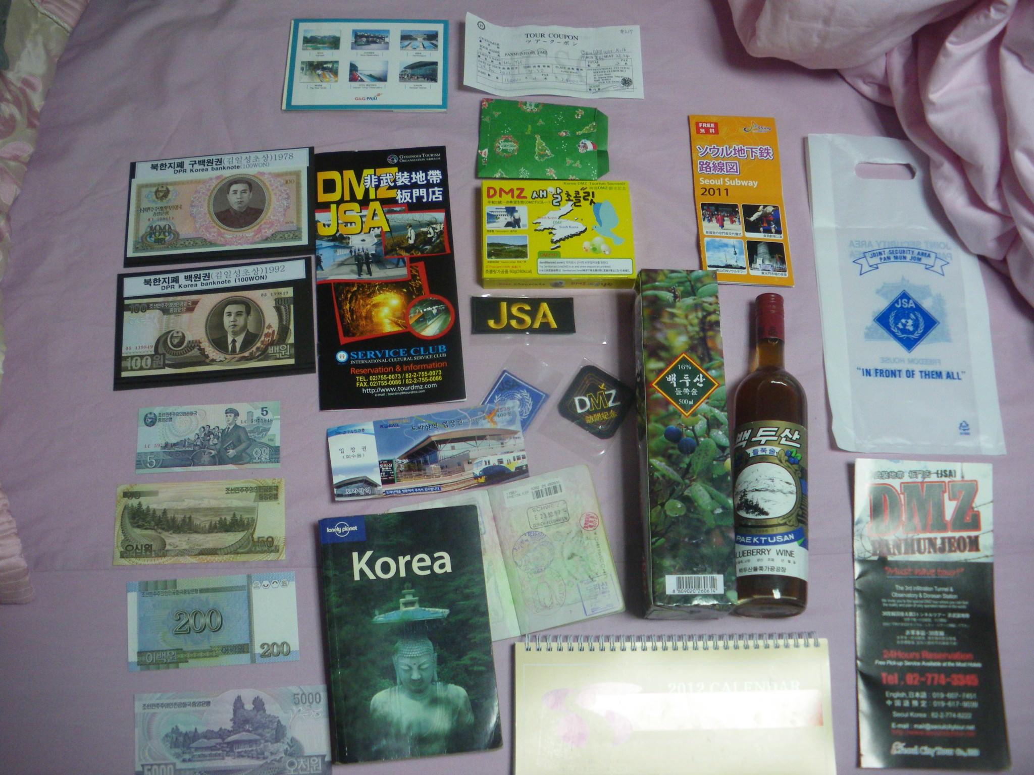 souvenirs pyongyang