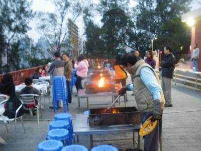 Friday's Featured Food - Barbecue at Tseung Kwan O, Hong Kong.