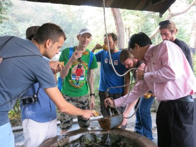 pyongyang water well