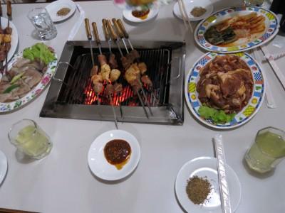 barbecue lamb korea DPRK