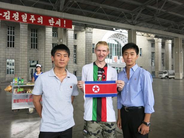 north korea to china