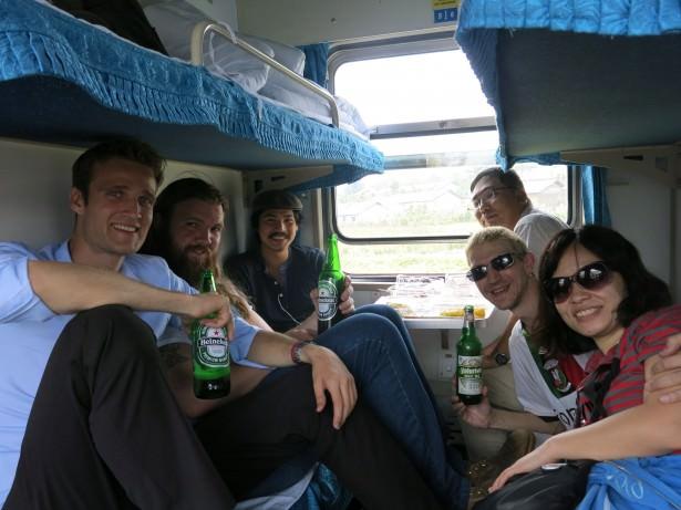 border train north korea china party train
