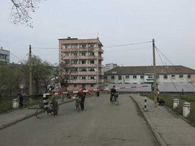 sinuiji north korea china border