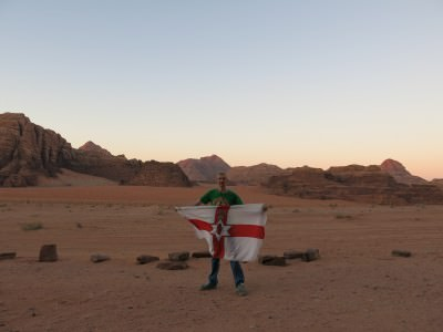 wadi rum deserts backpacking