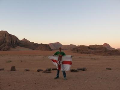 wadi rum deserts backpacking
