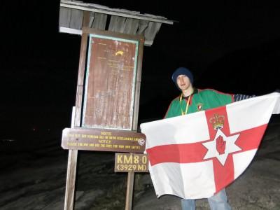 northern ireland flag borneo