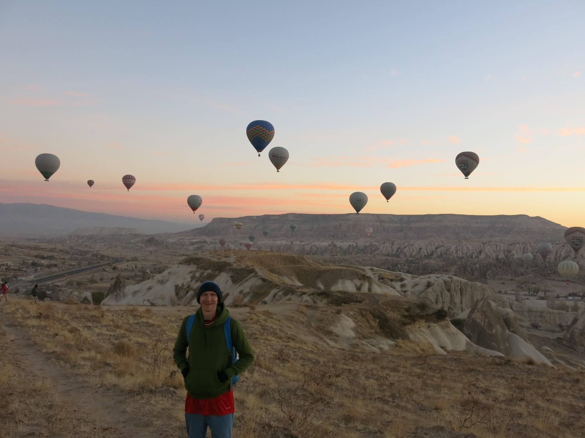 turkey cappadocia sunrise