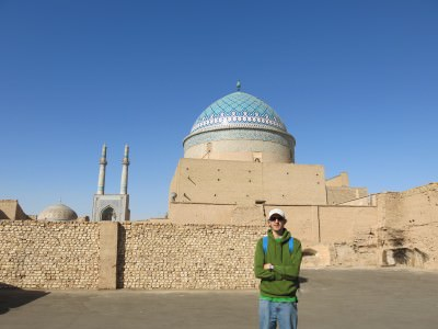 backpacking in yazd iran