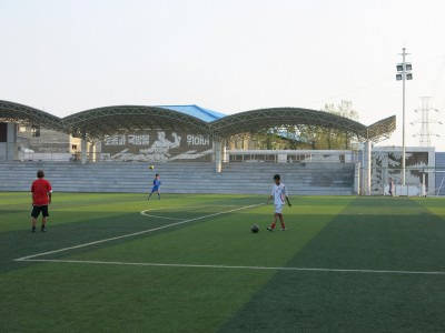 local football north korea
