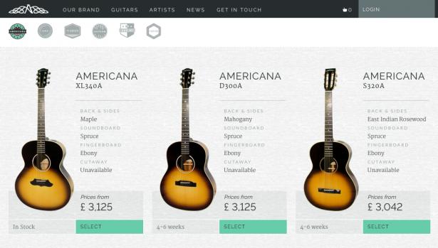 Avalon Guitars, Newtownards.