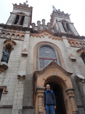 Cathedral in Batumi, Georgia.