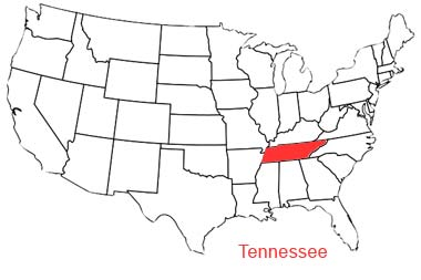 There's Tennessee!