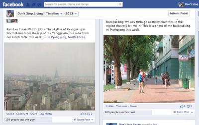 facebook in north korea