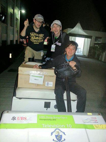 golf cart hong kong