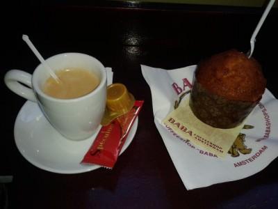 coffee and cannabis cake amsterdam