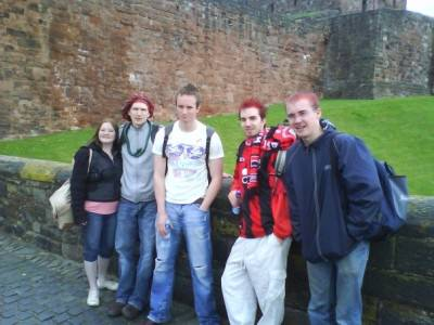 "Touring Carlisle by the ""border"" between Scotland and England."