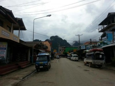 Vang Vieng in Laos. One to avoid!