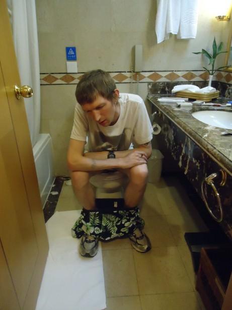 tuesdays travel problems diarrhoea