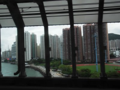 The MTR to Tung Chung is the real money saver.
