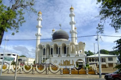 mosque in paramaribo suriname