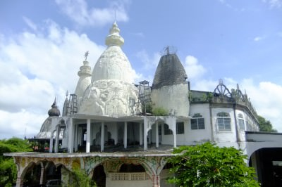 Hindu Temple in Paramaribo, Suriname.