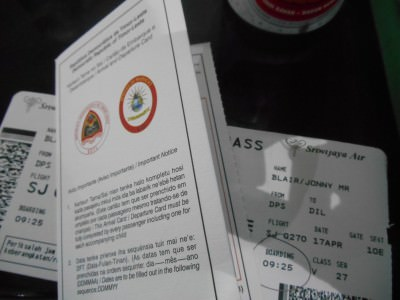 A Guide to Getting an East Timor Visa on Arrival at Dili Airport.