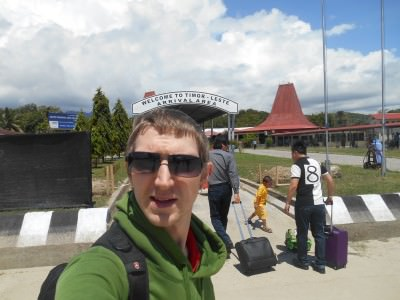 dili airport arrival
