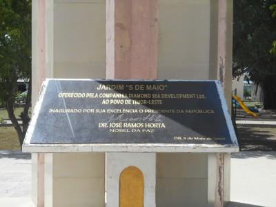 dili monument timor