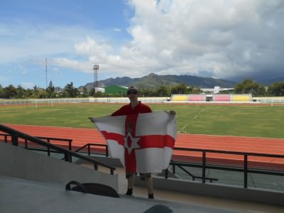 football pitch east timor