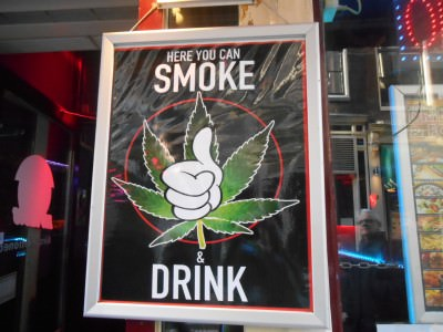 smoking weed in amsterdam