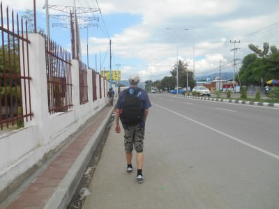 east timor backpacking in dili