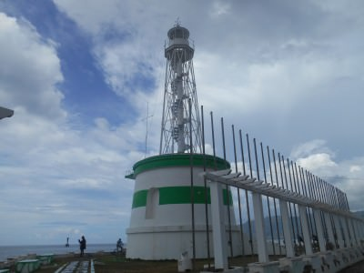backpacking in dili lighthouse