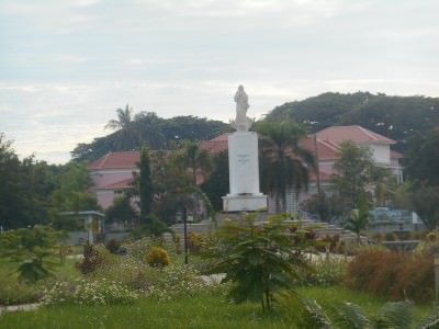 east timor fatima statue