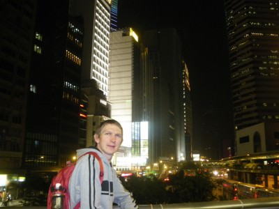 hong kong island backpacker