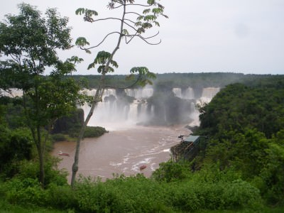 Foz Do Iguacu down by the Amazon Basin.