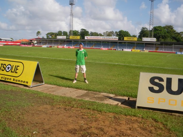 suriname football stadium