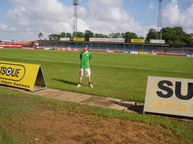 suriname football stadium