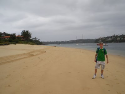 Clontarf Beach - one of the quieter ones in Sydney but I loved it.