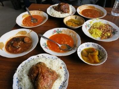 Our Kurdish Feast in Erbil, Iraqi Kurdistan.