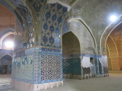 blue mosque tabriz iran