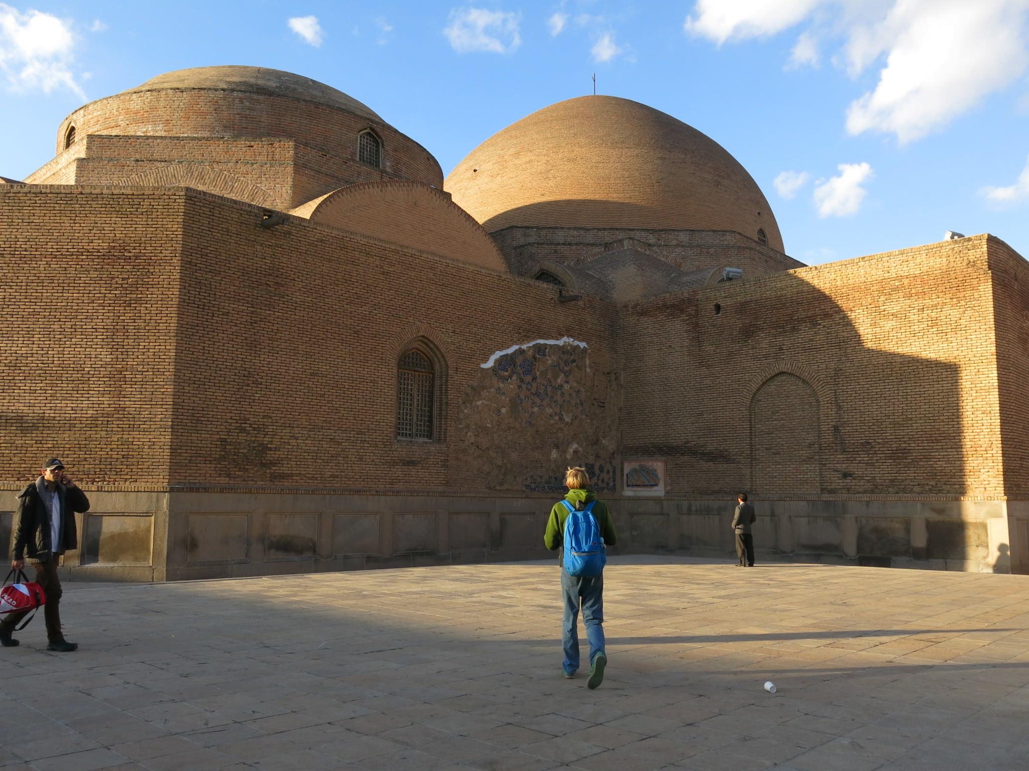 blue mosque iran tabriz