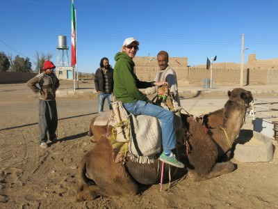 camel riding iran